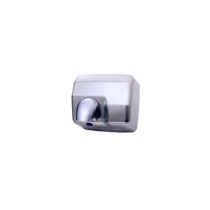 Secador de manos fabricado en acero inoxidable acabado satinado con sensor electrónico y tobera orientable