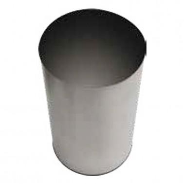 Papelera de gran capacidad sin tapa de 150 litros SIMEX