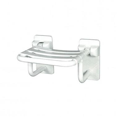 Asiento de ducha en nylon y acero zincado SIMEX