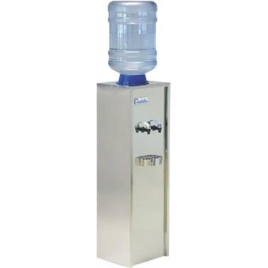 Dispensador de agua con botellón de 18'9L con dos grifos de agua fría y natural Serie 1 marca Canaletas