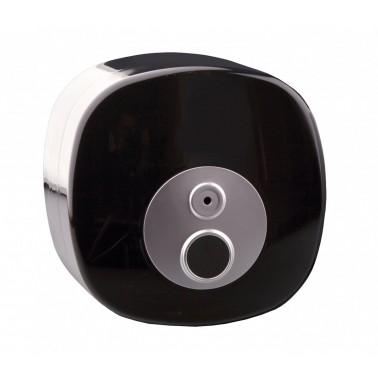 Portarrollos de extracción central acabado negro marca JVD