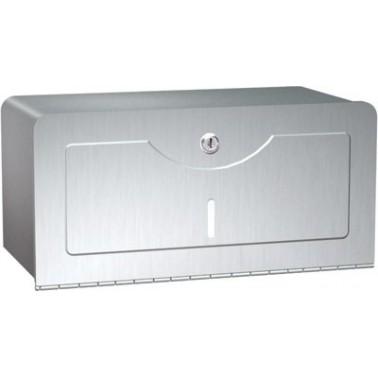 Dispensador de papel de acero inoxidable marca ASI