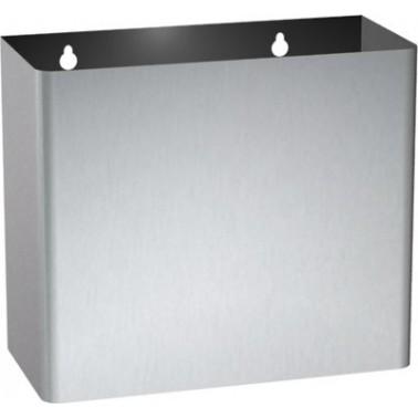 Contenedor de residuos fabricado en acero inoxidable marca ASI