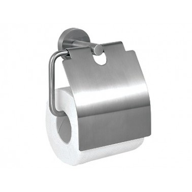 Portarrollos de papel higiénico de acero inoxidable satinado marca ASI