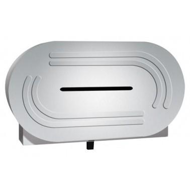 Dispensador de papel higiénico de doble rollo marca ASI