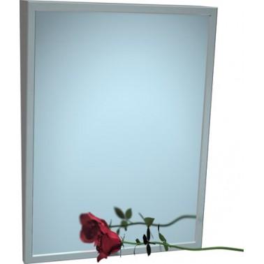 Espejo con marco de inclinación fija 41x76 cm marca ASI