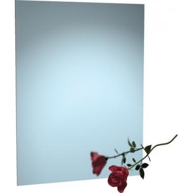 Espejo de acero inoxidable sin marco 41x51 cm marca ASI
