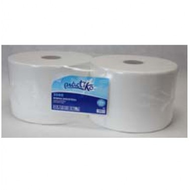 Pack de dos unidades de papel bobina industrial