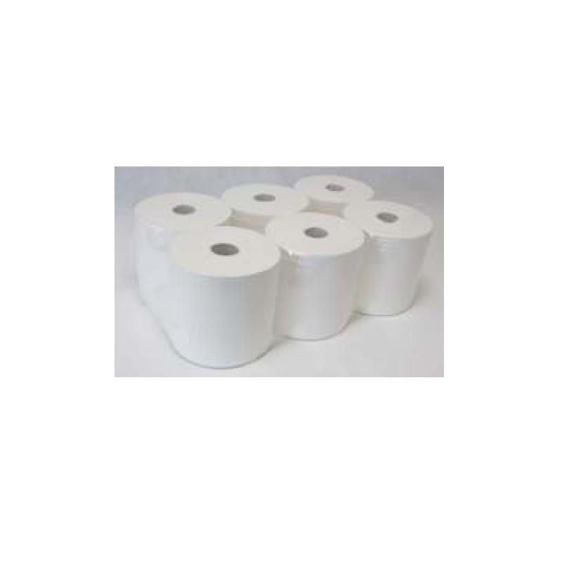 Auto cut lever tissue roll paper