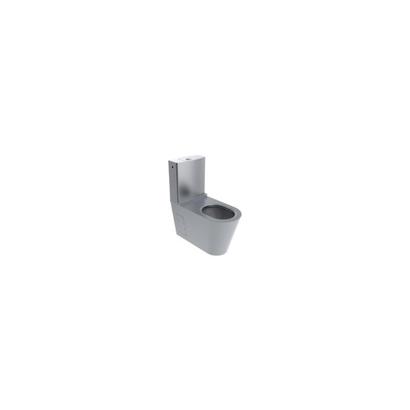 Inodoro para discapacitados monoblock fabricado en acero for Inodoro discapacitados