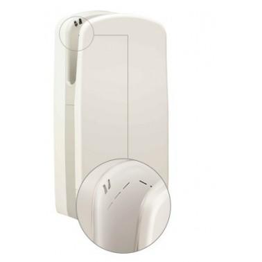 Secador de manos V6 color blanco con ranuras de sistema de aire Veltia