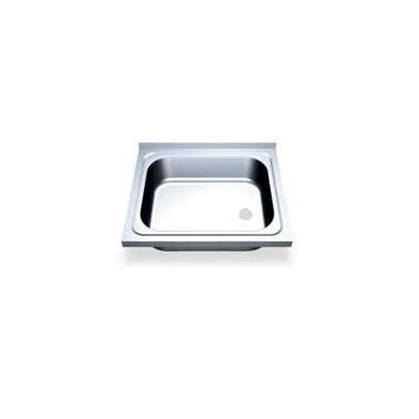 Fregadero fabricado en acero inoxidable de 700x700 mm Fricosmos