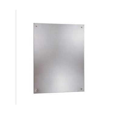 Espejo de acero inoxidable sin marco 610x915mm Bobrick