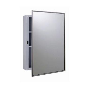 Botiquín con espejo para montar en la pared Bobrick