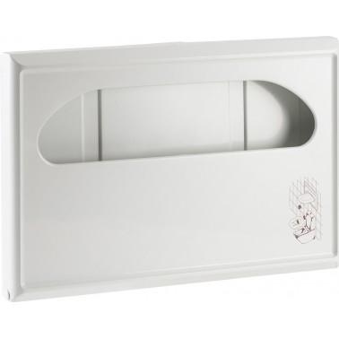 Dispensador de aros higiénicos fabricado en plástico ABS acabado blanco NOFER