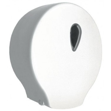 Dispensador de papel higiénico de ABS blanco