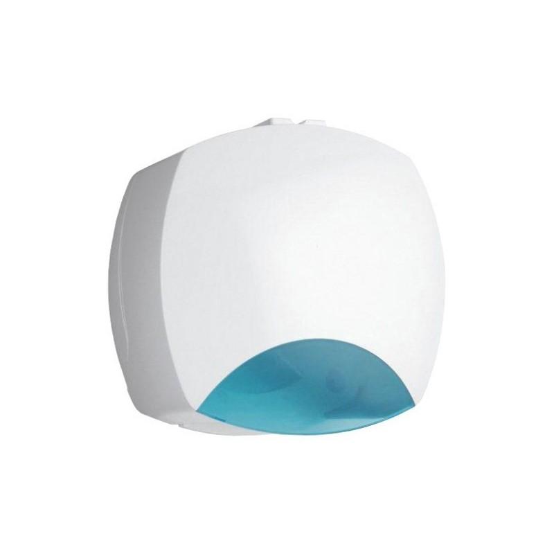 Porta rollos de papel higiénico de ABS blanco