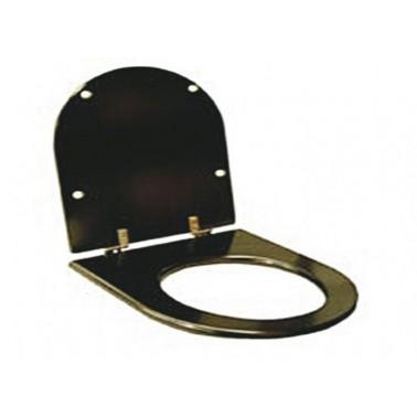 Tapa inodoro infantil madera color negro para inodoro 13014