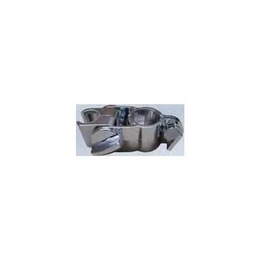 Soporte para rociador de ducha fabricado en plástico ABS cromado NOFER