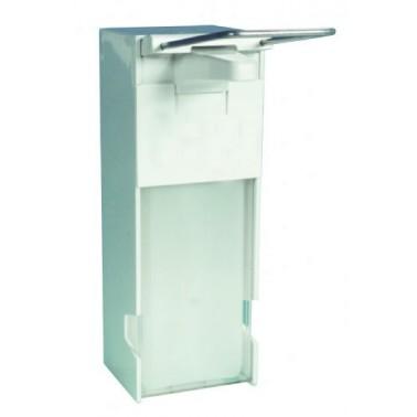 Dosificador de jabón hospitalario modelo Maxclean fabricado en plástico ABS y polietileno NOFER
