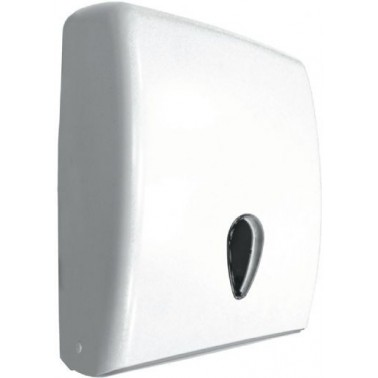 Dispensador de papel toalla de ABS blanco
