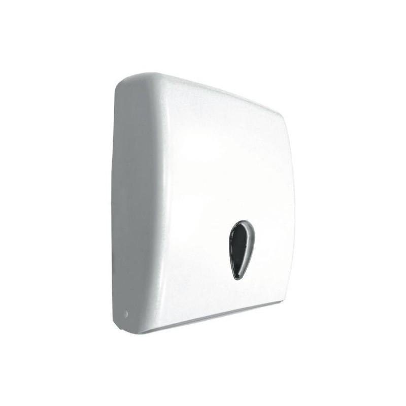 Dispensador de papel toalla de ABS blanco