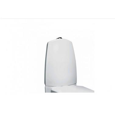Cisterna baja con tapa y mecanismo doble descarga instalado alimentación inferior blanco newday Unisan