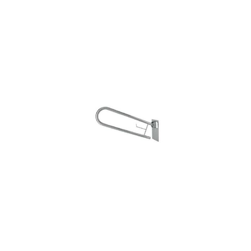 Asidero abatible acero inoxsatinado 70cm
