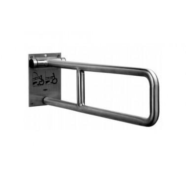 Asidero abatible de acero inox satinado 735 mm
