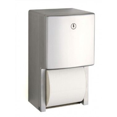 Dispensador de papel higiénico doble serie Contura