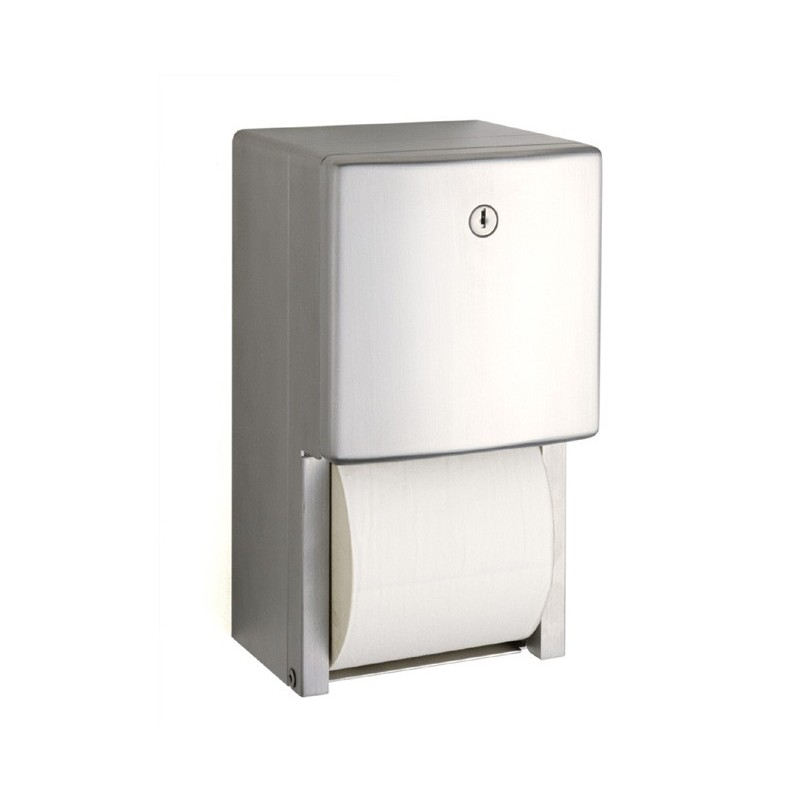 Dispensador de papel higiénico doble serie Contura