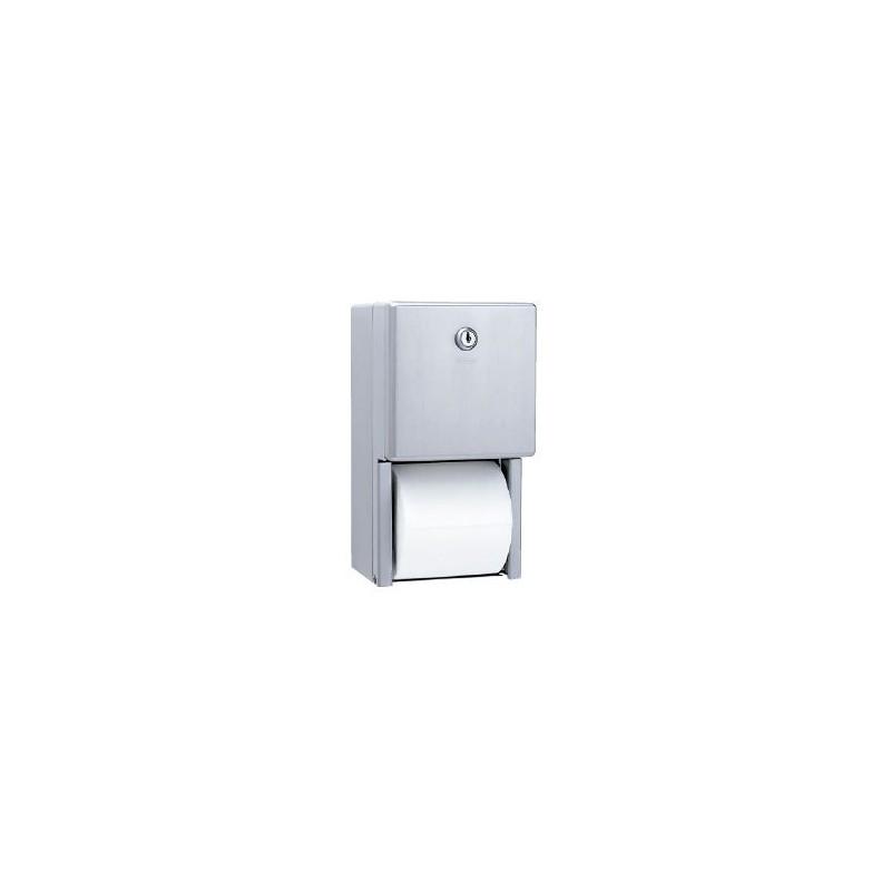 Dispensador de papel higiénico doble serie Clásica