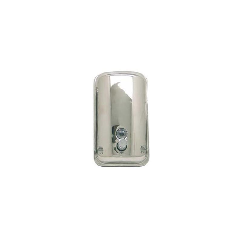 Dispensador de jabón de acero inox brillo