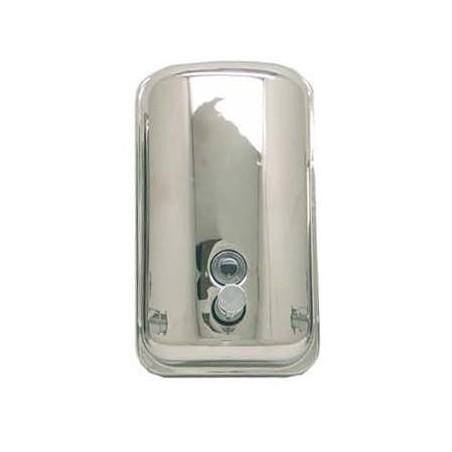 Dispensador de jabón de acero inoxidable acabado brillante Komercia