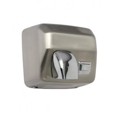 Secador de manos de acero inoxidable satinado