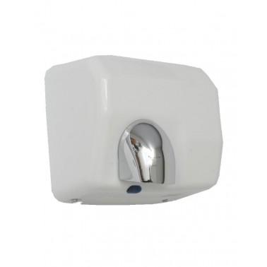 Secador de manos automático epoxi blanco