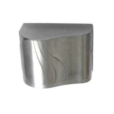 Secador de manos en aluminio satinado automático