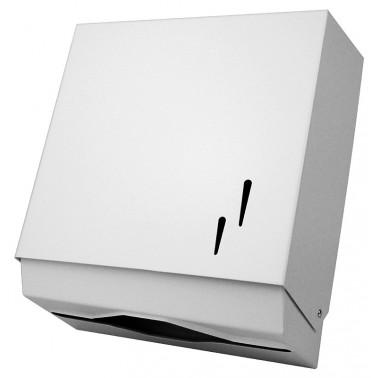 Dispensador de toallitas de papel de acero inox satinado