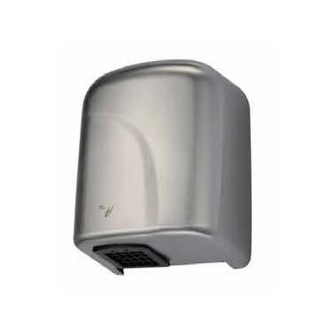 Secador de manos automático en acero inoxidable disponible en tres acabados Komercia