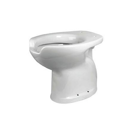 Inodoro especial para discapacitados con apertura frontal, con salida a suelo o pared Komercia