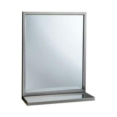 Espejo con marco soldado 46 Ancho x 76 Alto
