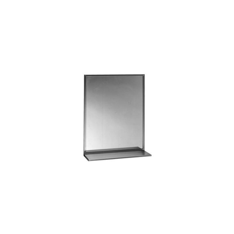 Combinación estante/espejo con marco soldado 46 Ancho x 91 Alto