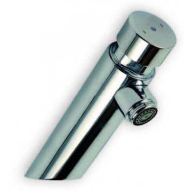 Grifo recto temporizado para lavabo ARU con sistema de pulsación suave