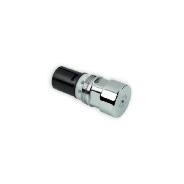 Cabezal para ducha intercambiable temporizado ARU con Reglaje de tiempo y sistema de pulsación suave