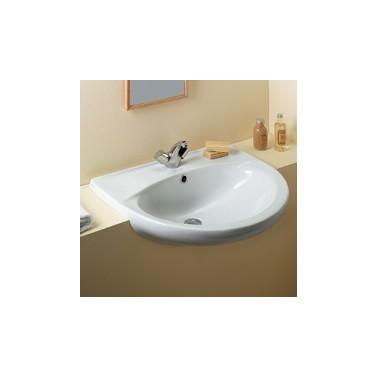 Lavabo semi-encastre blanco benissa