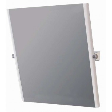 Espejo reclinable para discapacitados con marco de acero cincado