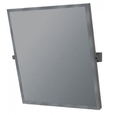 Espejo reclinable para discapacitados con marco acabado pintado blanco