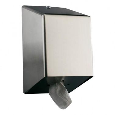 Dosificador de papel mecha de acero inox satinado