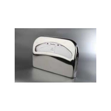 "Dispensador de papel toalla ""cover"" de acero inox brillo"