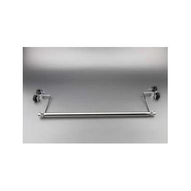 Dispendador de papel para camillas de acero inox brillate